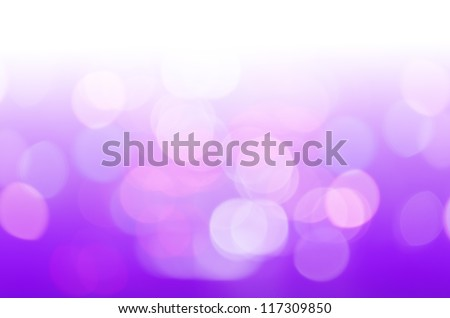 defocused with purple light background - stock photo