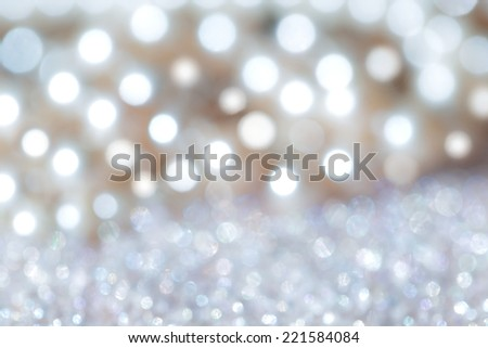 Defused white lights. - stock photo