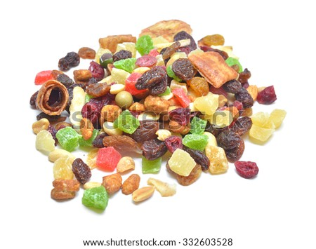 dehydrated fruits mix