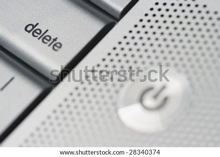 Delete button from a Mac keyboard
