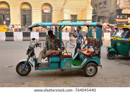 Rickshaw Stock Images Royalty Free Images Amp Vectors