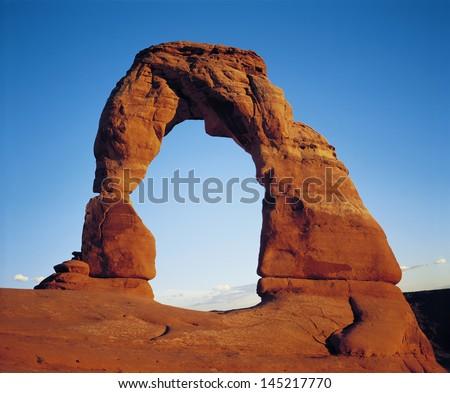Delicate Arch - stock photo