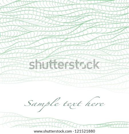 delicate stems of green grass intertwined on a white background