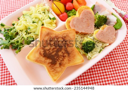 Delicious breakfast - stock photo