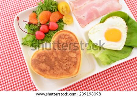 Delicious breakfast - stock photo