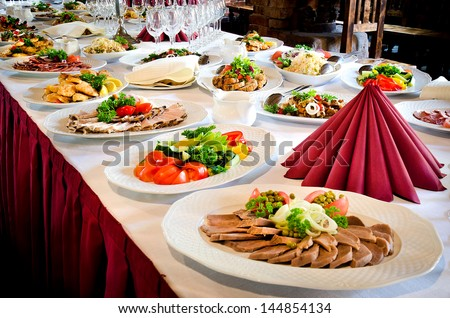 Buffet Table Stock Images, Royalty-Free Images & Vectors ...
