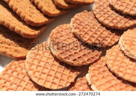 Delicious cookies - stock photo