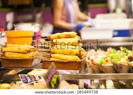 Delicious croquettes  - stock photo