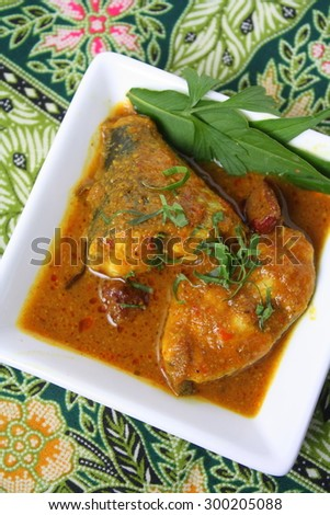 Delicious Fish Curry  - stock photo