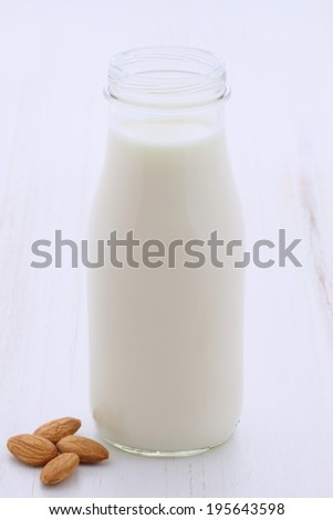Delicious fresh milk, one of the primary sources of nutrition. - stock photo