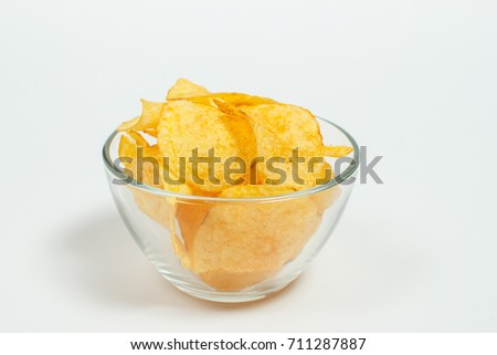 Delicious fried potato for snacks