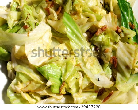 Delicious fry vegetable. - stock photo