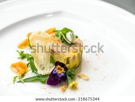 Delicious gourmet food - stock photo