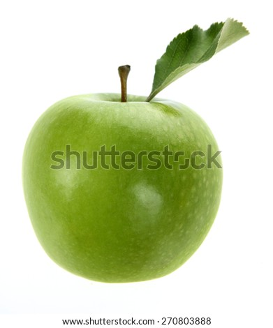 Delicious Granny Smith Apple - stock photo