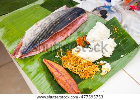 Pescetarian diet stock photos royalty free images for Aromatic herb for fish