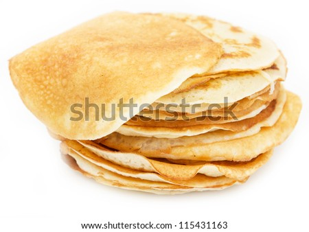 delicious sweet pancakes
