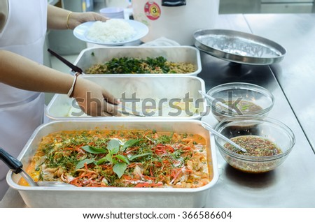 Delicious  thai  food  ready for serve
