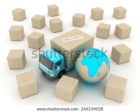 DELIVERY - stock photo