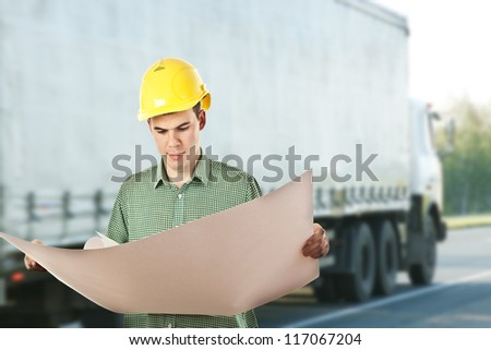 delivery service - stock photo