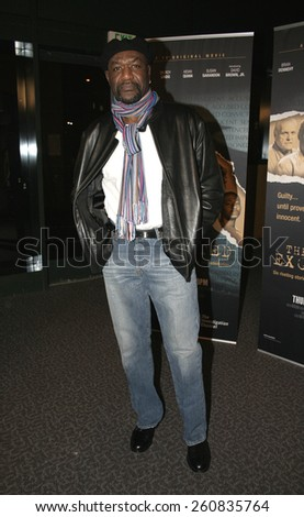 "Delroy Lindo at the Los Angeles Premiere of ""The Exonerated"" held at Directors Guild of America in Hollywood, California, United States on January 13, 2005."