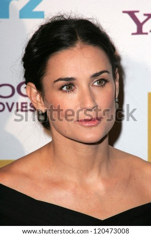 Demi Moore at the Hollywood Film Festival's 10th Annual Hollywood Awards Gala. Beverly Hilton Hotel, Beverly Hills, CA. 10-23-06 - stock photo