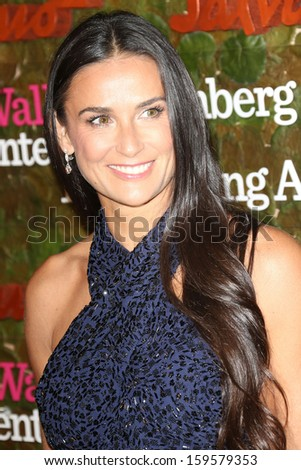 Demi Moore at the Wallis Annenberg Center For The Performing Arts Inaugural Gala, Wallis Annenberg Center For The Performing Arts, Beverly Hills, CA 10-17-13