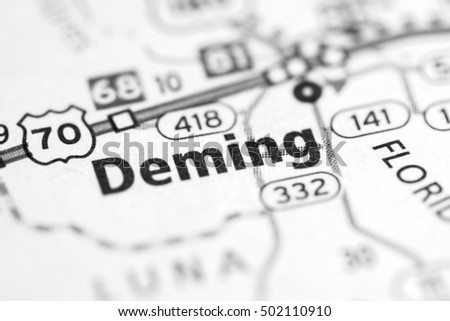 Deming. New Mexico. USA.
