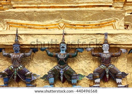 demon which support golden chedi