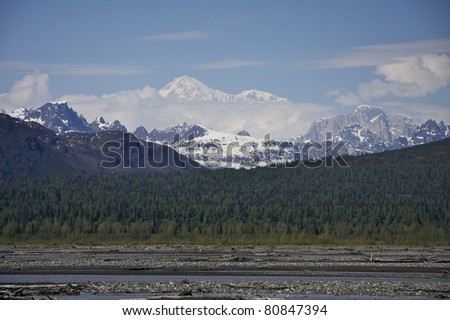 Denali - stock photo