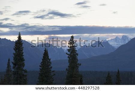 Denali National Park, Alaska - stock photo
