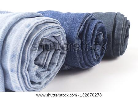 Denim jeans - stock photo