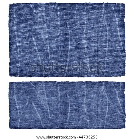 Denim jeans patterns - stock photo