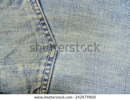 Denim texture for background