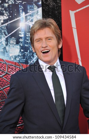 """Denis Leary at the world premiere of his movie """"The Amazing Spider-Man"""" at Regency Village Theatre, Westwood. June 29, 2012  Los Angeles, CA Picture: Paul Smith / Featureflash - stock photo"""