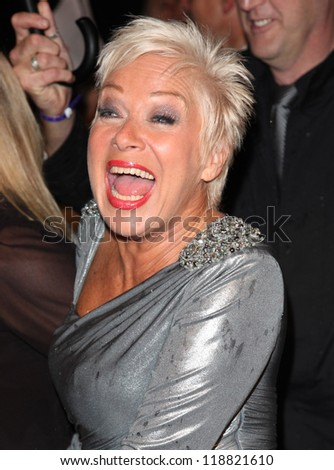 Denise Welch arriving for the 2012 Pride of Britain Awards, at the Grosvenor House Hotel, London. 29/10/2012 Picture by: Alexandra Glen