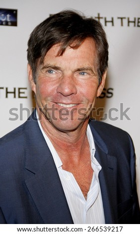 Dennis Quaid at the Los Angeles premiere of 'Beneath The Darkness' held at the Egyptian Theater in Hollywood on January 4, 2012.