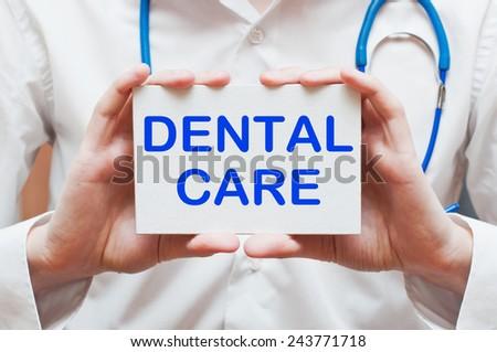 Dental Care concept - stock photo