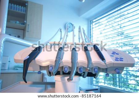 Dental Drills - stock photo