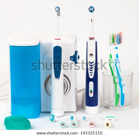 Dental equipment - stock photo