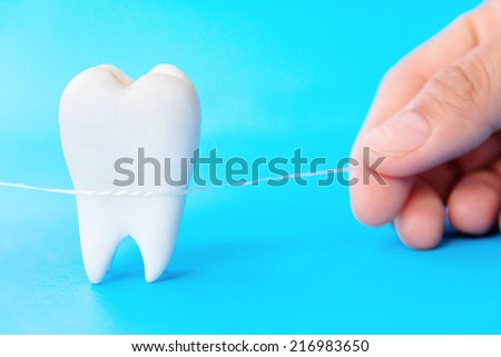 Dental Hygiene Concept - stock photo