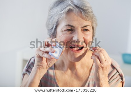 Dental Hygiene, Elderly Person