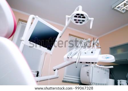 Dental office, equipment - stock photo