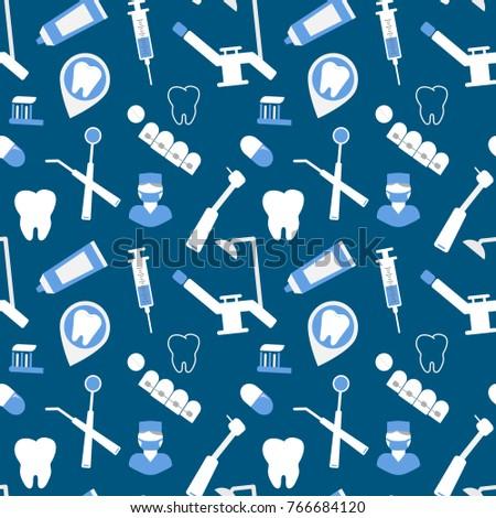 Dental seamless background websites business cards stock dental seamless background for websites business cards brochures colourmoves
