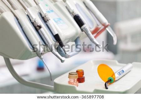 Dental tools. - stock photo