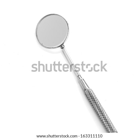 dental tools isolated on white