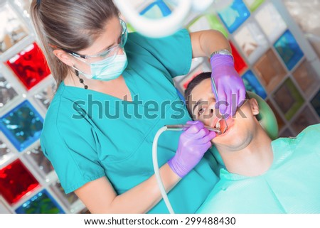 Dentist office - stock photo