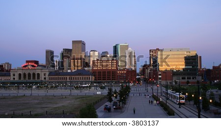 Denver Colorado - stock photo