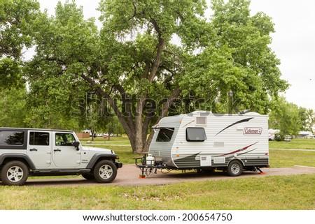 Excellent Rent RV Trailer Denver Jayco 23B