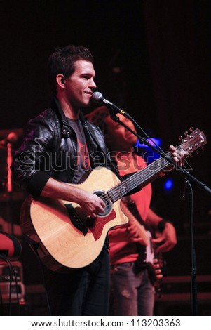 DENVER - OCT 4: Andy Grammer performs in concert at The Paramount Theatre in Denver, CO on October 4, 2011