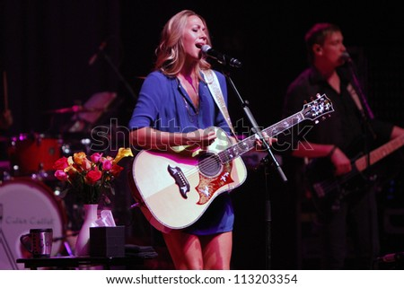 DENVER - OCT 4: Colbie Caillat performs in concert at The Paramount Theatre in Denver, CO on October 4, 2011